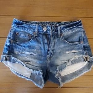 American eagle high waist shorts